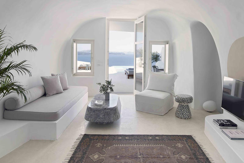 Summer Cave House Santorini Kapsimalis Architects Greece 2017 Architecture