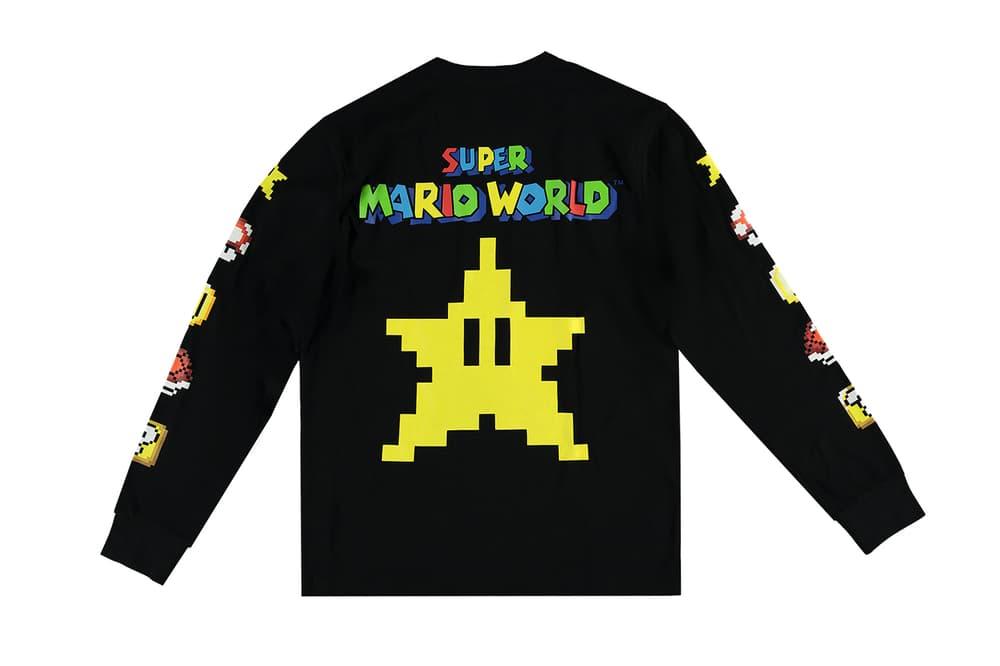 Super Nintendo Forever 21 Capsule Collection Collaboration Super Mario World Mario Kart