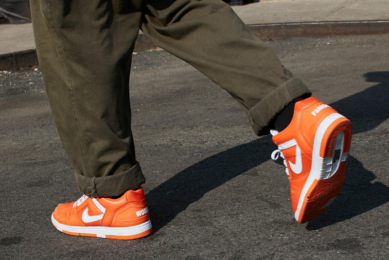 Supreme x Nike Reveal SB Air Force 2 Collaboration