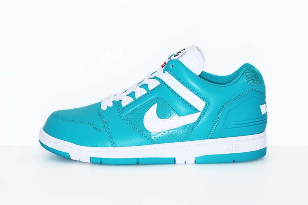 Supreme x Nike SB Air Force 2 Revealed