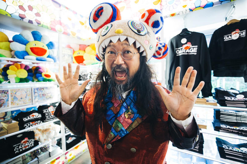 Takashi Murakami Garage Museum of Contemporary Art Apparel Merchandise Clothing Accessories Art Artwork Exhibit