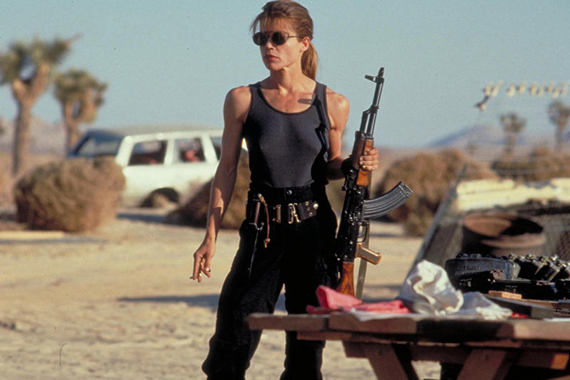 Linda Hamilton Terminator Franchise Return Sarah Connor John Arnold Schwarzenegger