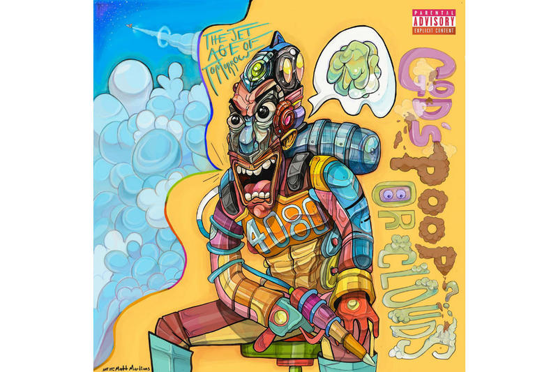 The Jet Age of Tomorrow New Collaborative Project Gods Poop or Clouds Download Stream Matt Martians Pyramid Vritra