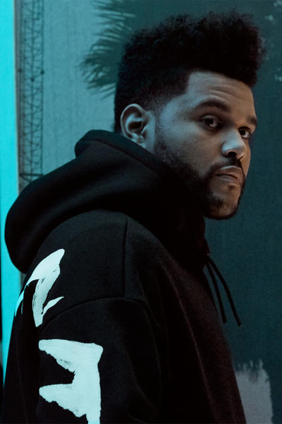 H&M Presents The Weeknd Collection black hoodie