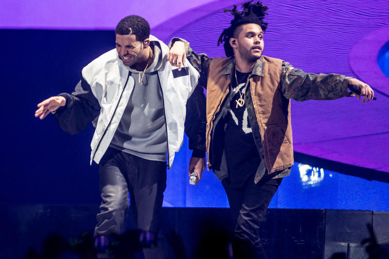 The Weeknd Drake