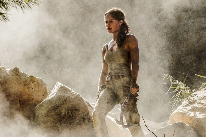 Tomb Raider preview videos trailers Alicia Vikander