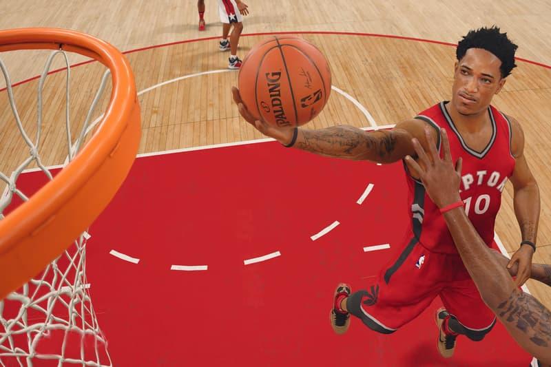 NBA 2K Toronto Raptors DeMar DeRozan