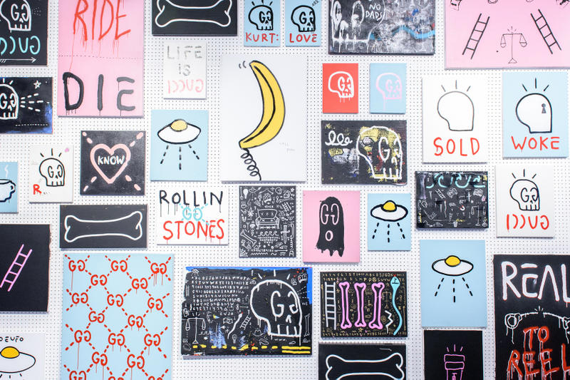 Trevor Trouble Andrew GucciGhost The Real Buy Exhibit Milk Gallery New York City Art Artwork