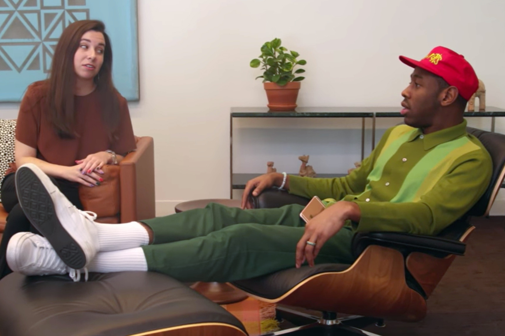Watch Tyler, The Creator Design His Own $4,500 USD Eames Chair