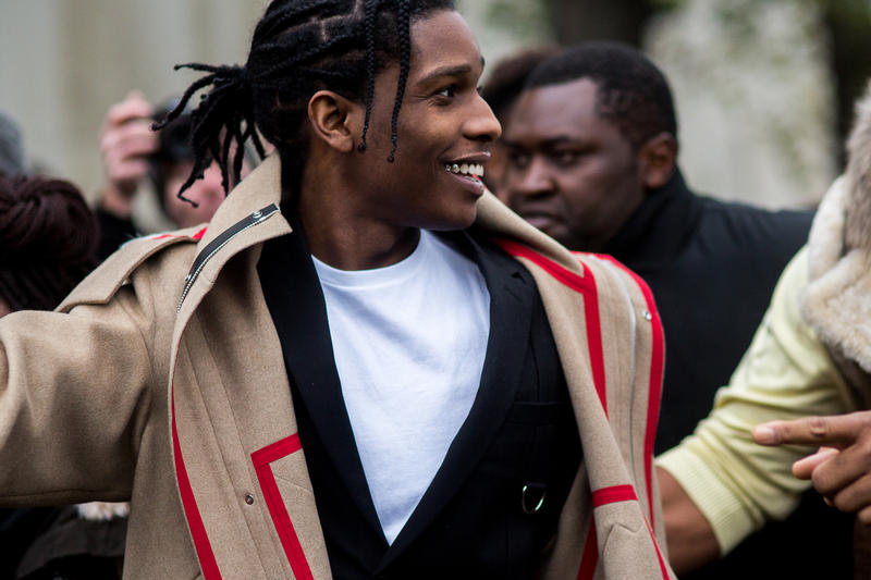 under armour asap a$ap rocky mob partnership ambassador creative director consultant endorsement deal contract sneakers footwear fashion style line community centers los angeles new york baltimore paris week 2015 2017 awge sportswear collaboration