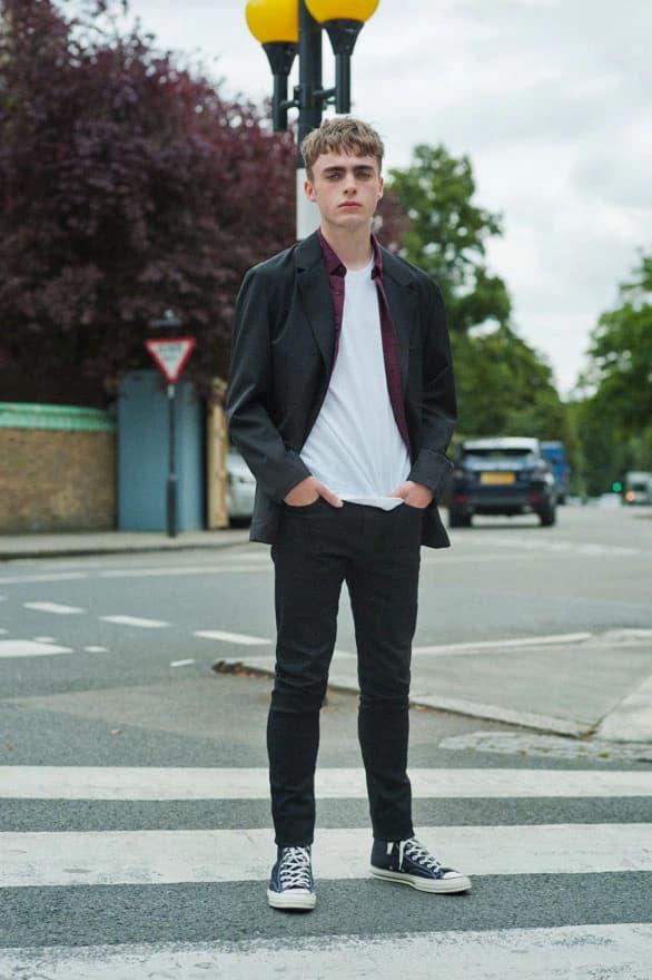UNIQLO J BRAND Liam Gallagher Langley Fox Hemmingway