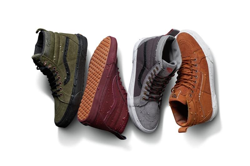 Vans All Weather MTE Apparel Footwear Outwear Jackets Release Date Info