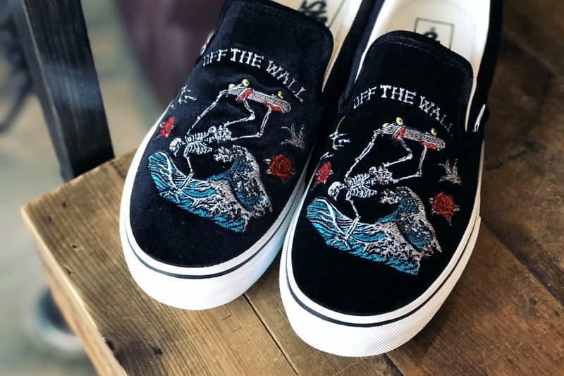 Vans Taiwan Slip-On Sneakers Shoes Footwear Yokosuka Embroidery Release Date Drop September 23