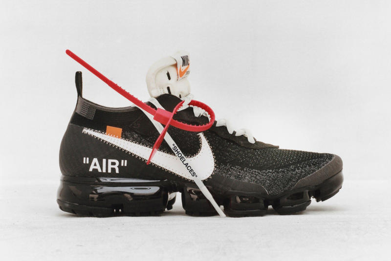 Virgil Abloh Nike Dover Street Market London Signing Appearance VaporMax OFF CAMPUS THE TEN