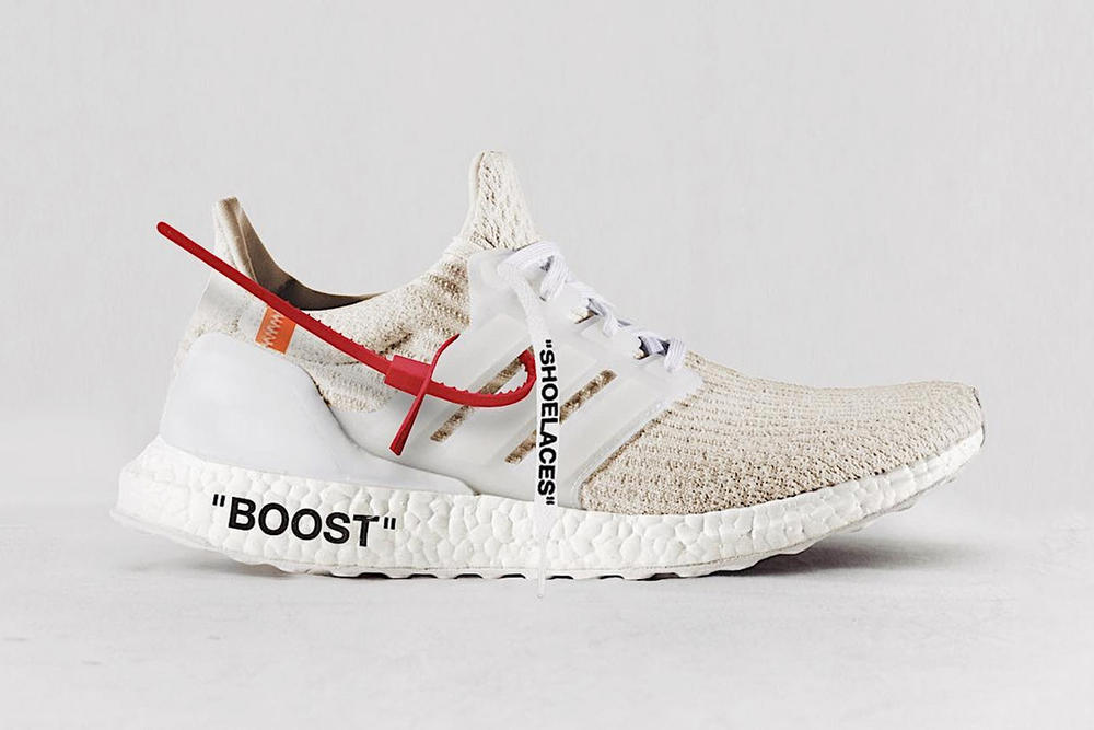 "Corbs Virgil Abloh x adidas ""Triple Off-White"" Ultra Boost"