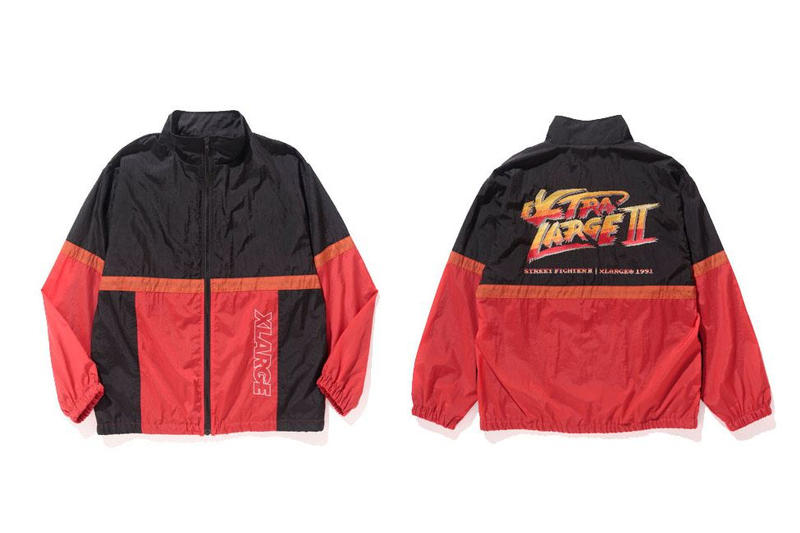 XLARGE® x-large street fighter street fighter II 2 capsule collection collab collaboration dragon ball z