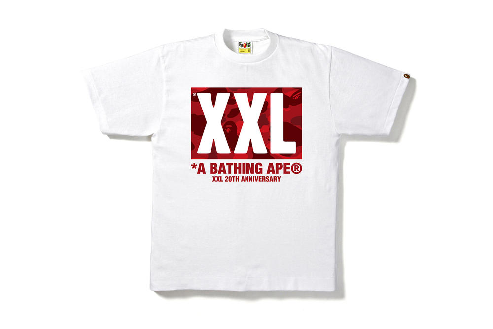 XXL BAPE 20th Anniversary T Shirt Magazine A Bathing Ape 2017 Release Date Info Contest Giveaway