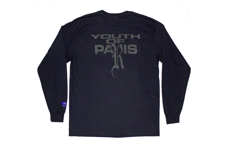 YOUTH OF PARIS Alex Lopez Apparel Clothing Fashion T-Shirt
