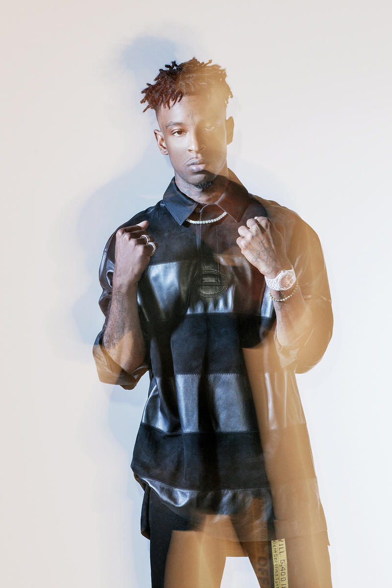 21 Savage EXIT Magazine Cover Story Editorial Kenneth Cappello