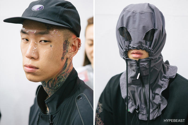 99%IS Spring Summer 2018 Collection Show Backstage Bajowoo