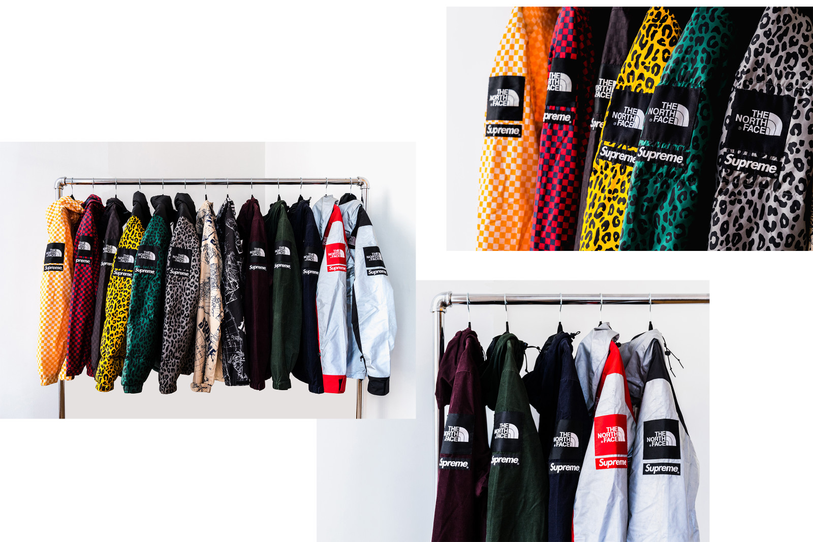 Peter Valles The North Face TNF Supreme Vans Comme des Garcons CDG sacai Collaborations Collabs Jackets Pants Outerwear Junya Watanabe mastermind Vans