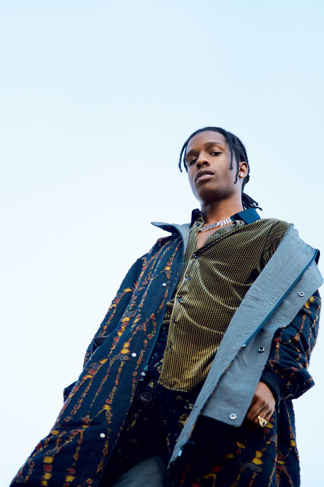 ASAP Rocky GQ Style Music Fashion Entertainment Under Armour Interview