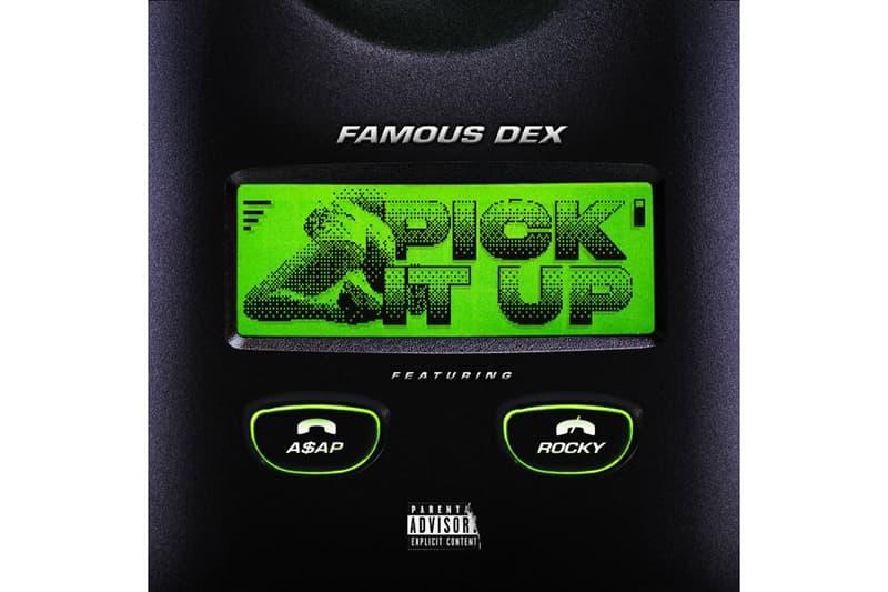 Famous Dex A$AP Rocky Pick It Up music song single mob asap Meets Dexter phone telephone