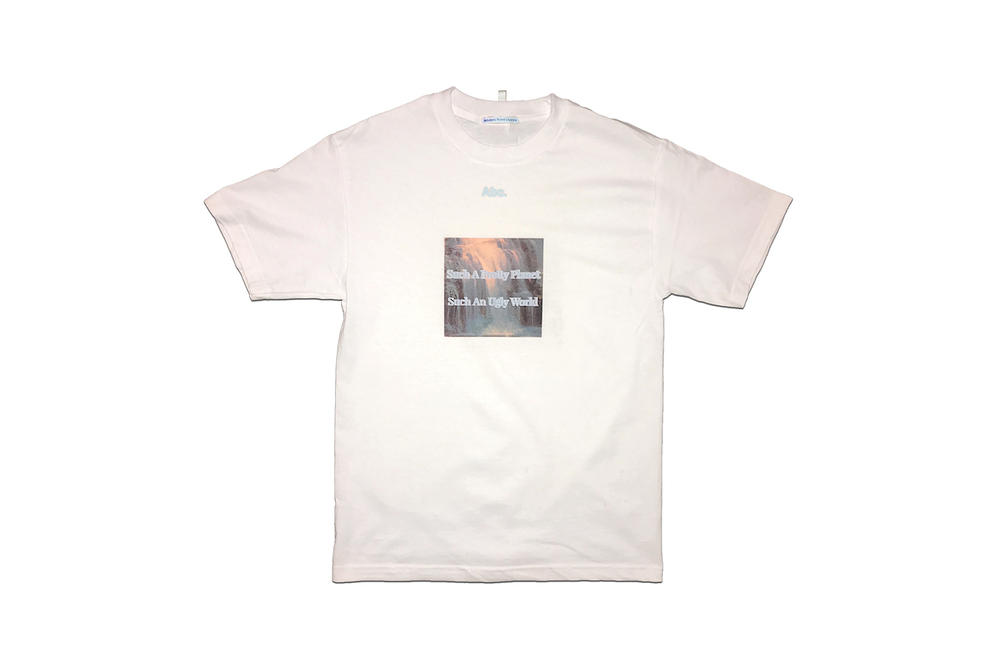 "Advisory Board Crystals Abc. Graphic T-shirts Tees ""Such a Pretty Planet"" Capsule"