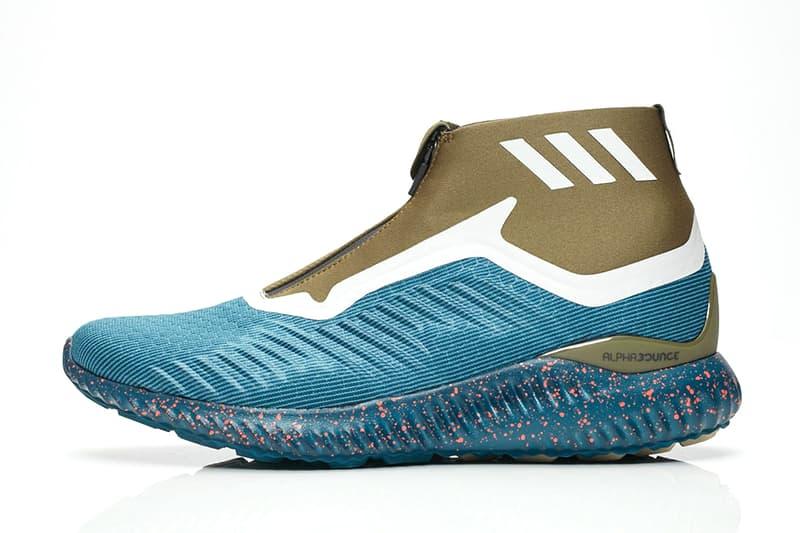 adidas alphabounce Zip Petrol Night footwear