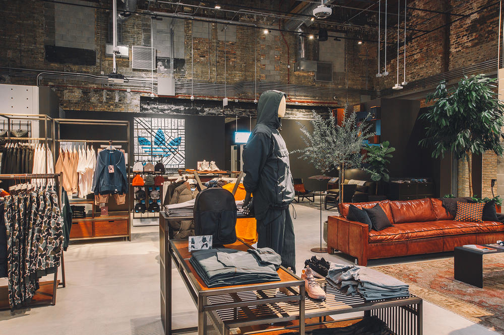 adidas Chicago Store Largest Biggest Ever Wicker Park