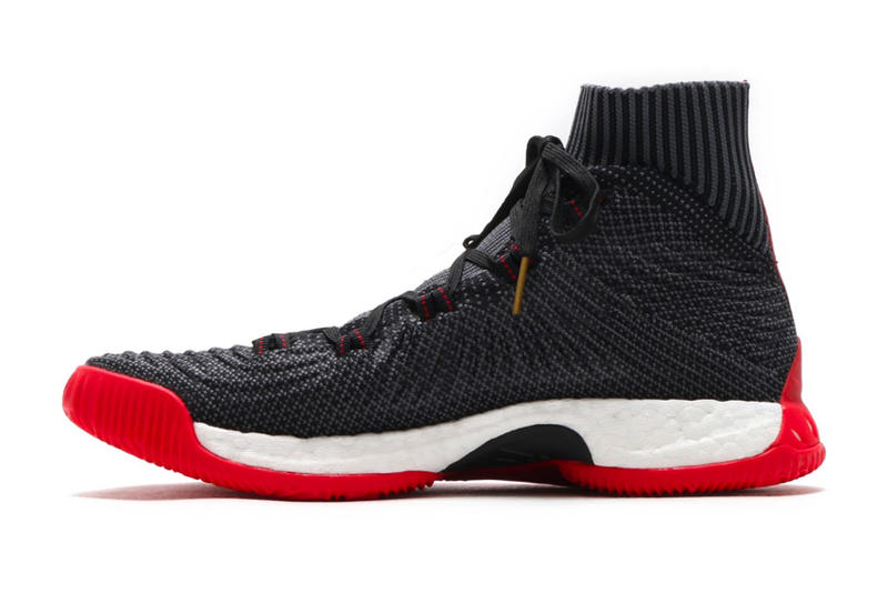 adidas Crazy Explosive 2017 Primeknit Black Scarlet Basketball