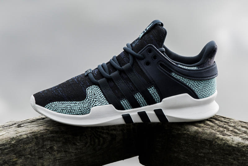 adidas x Parley Eqt Support Adv CK Ink and White