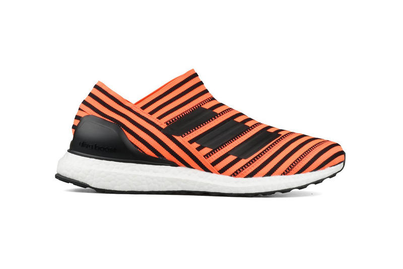 adidas Nemeziz Tango 17 UltraBOOST Solar Orange Core Black 2017 October 13 Release Sneakers Shoes Footwear Bodega