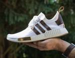 Craig David Unveils Custom Louis Vuitton x adidas Originals NMDs
