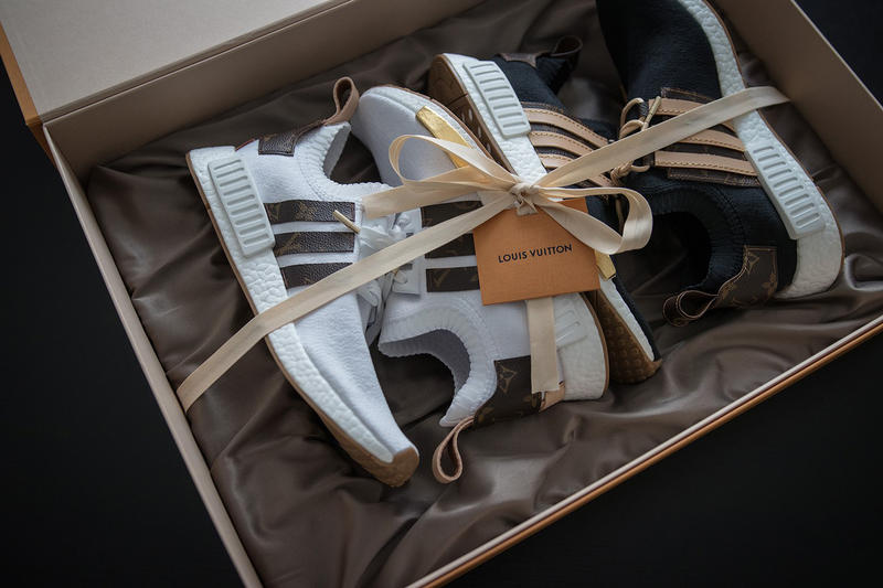 Louis Vuitton adidas NMD Customs Craig David Sneakersnbonsai Sneakers Shoes Footwear