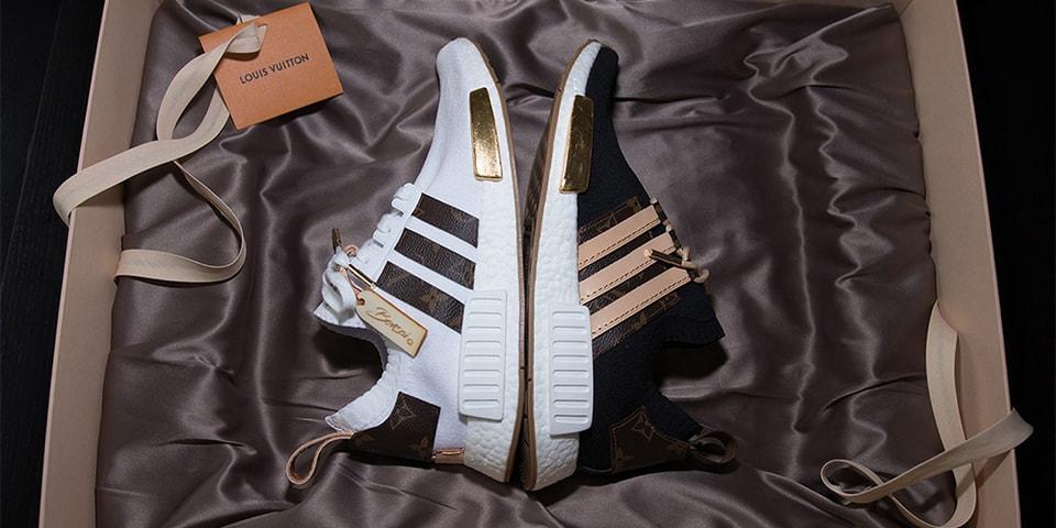 d066ddc64 Craig David s Custom Louis Vuitton x adidas NMDs