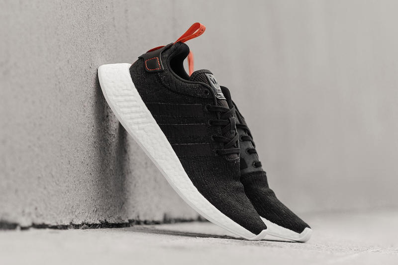 adidas NMD R2 Primknit Black Future Harvest 2017 Halloween October Release Date Info Sneakers Shoes Footwear Feature