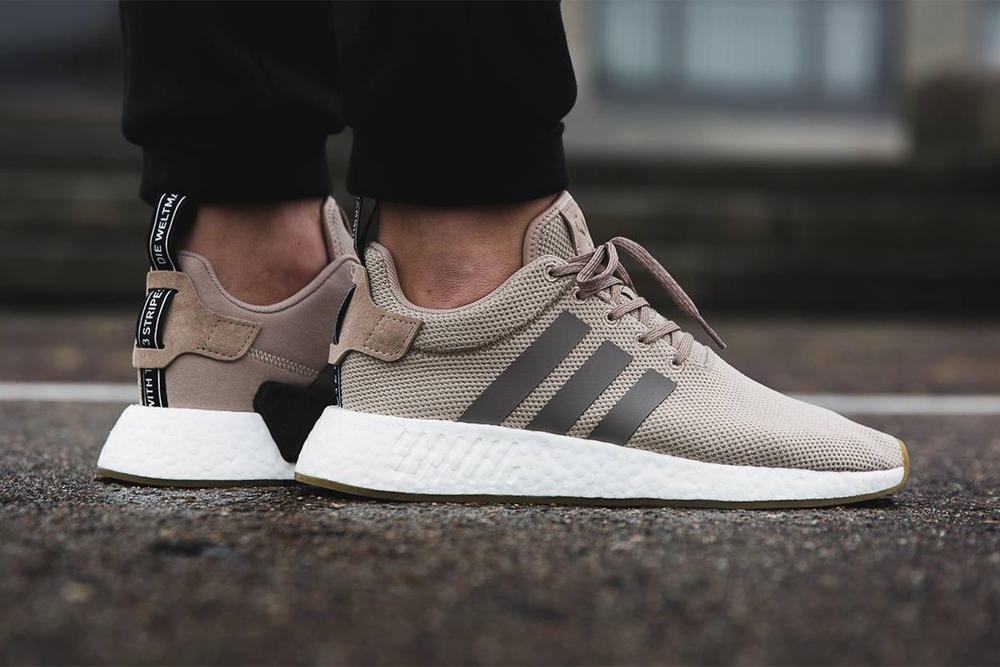 adidas NMD R2 Trace Khaki 2017 October Fall Release Date Info Sneakers Shoes Footwear Overkill