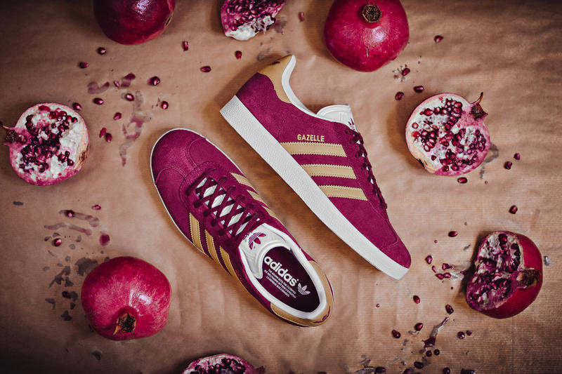 adidas Originals Gazelle Collegiate Burgundy 2017 October Fall Release Date Info Sneakers Shoes Footwear Xtreme