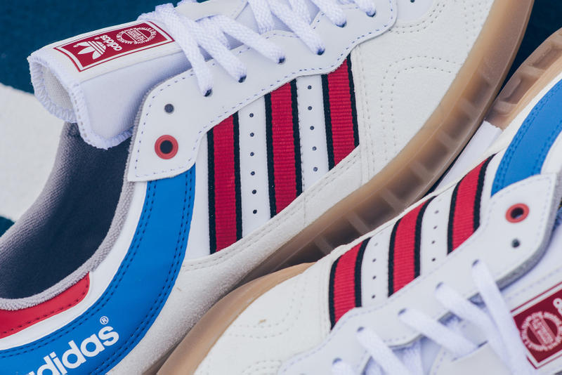 adidas Originals Handball Top White Red Blue Gum OG 2017 October 27 Release  Date Info Sneakers 507d94b44