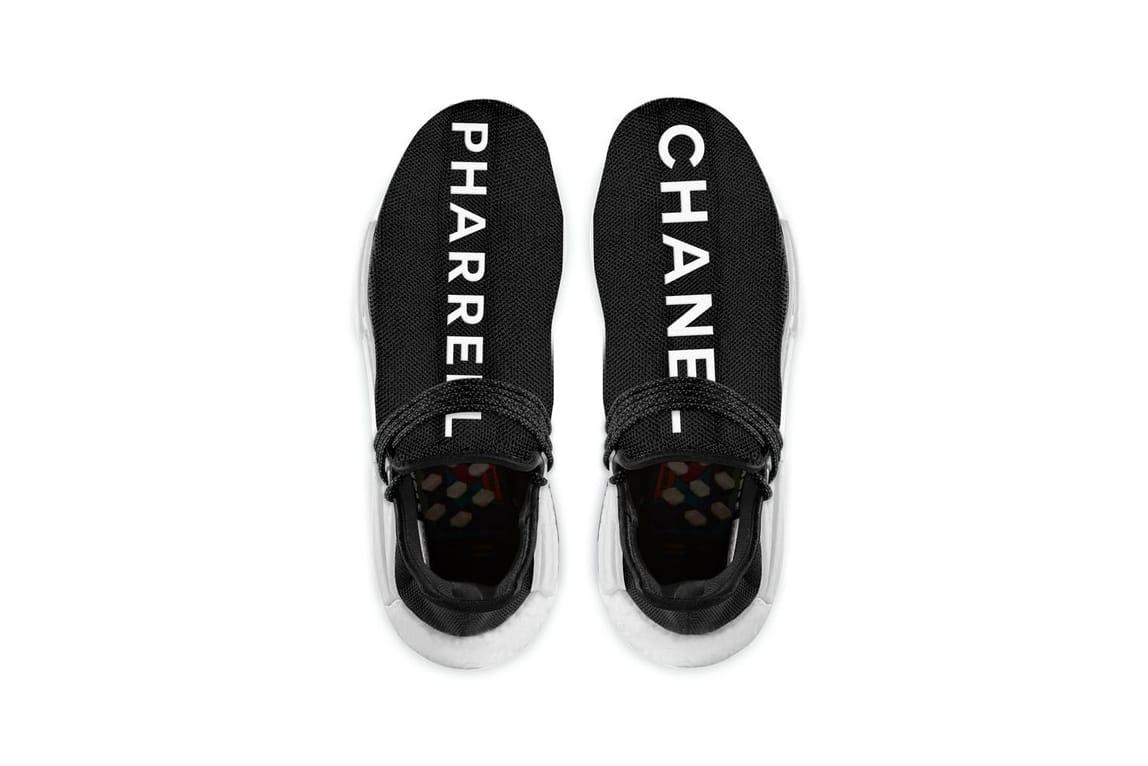 x Pharrell x Chanel Hu NMD Trail