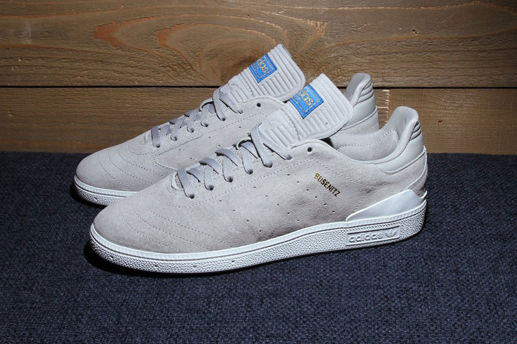 new arrival d5433 e8f42 The adidas Skateboarding Busenitz RX Receives a Sleek Grey Suede Wrap