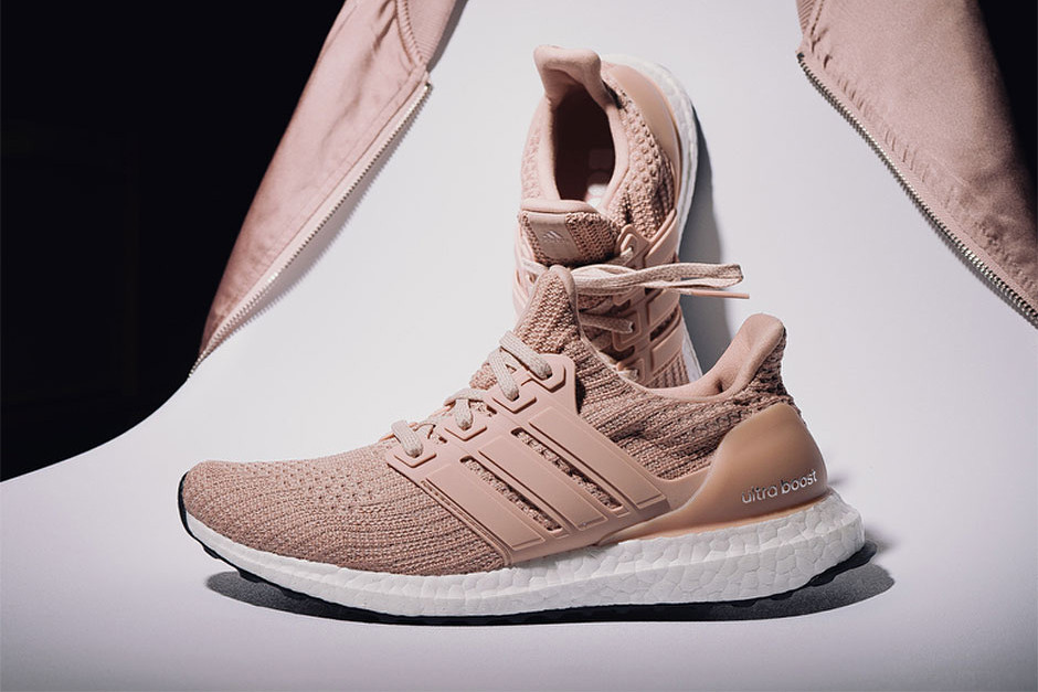 adidas ultra boost white and pink