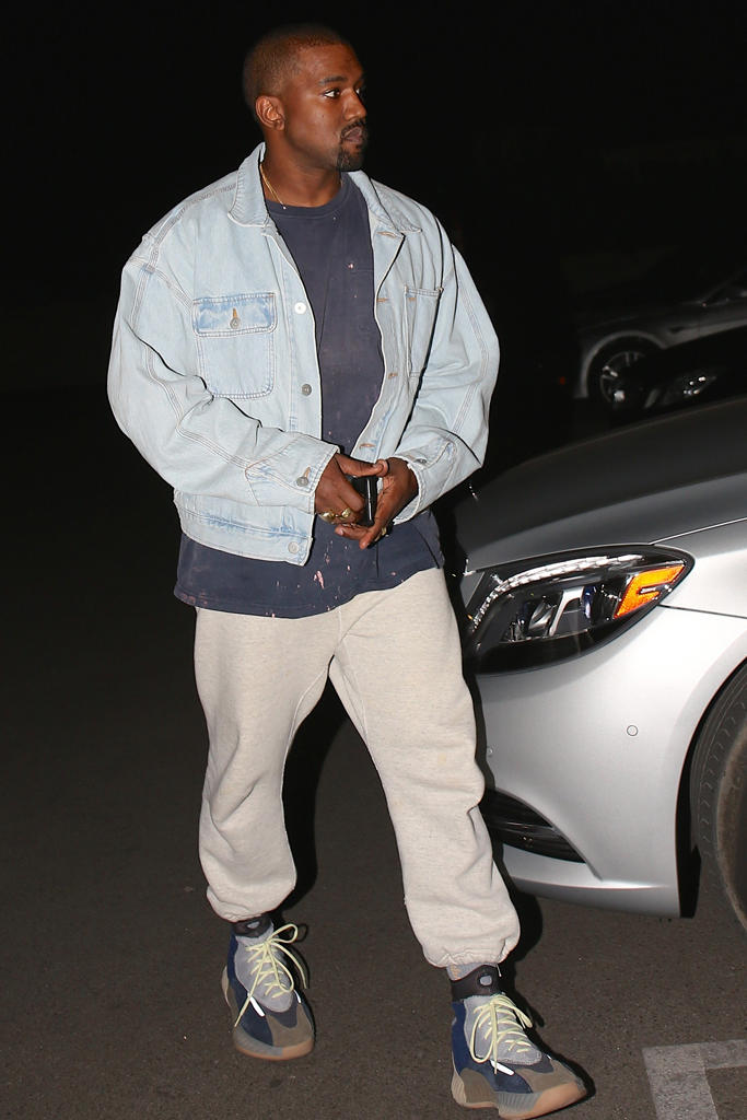 Kanye West New adidas YEEZY High Top Sneaker Shoes Footwear 2017 October 12 13 basketball wave runner 700 blue suede grey white yellow green