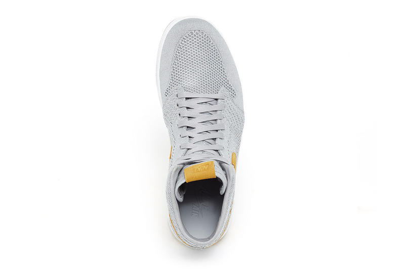 Air Jordan 1 Flyknit Wolf Grey Golden Harvest