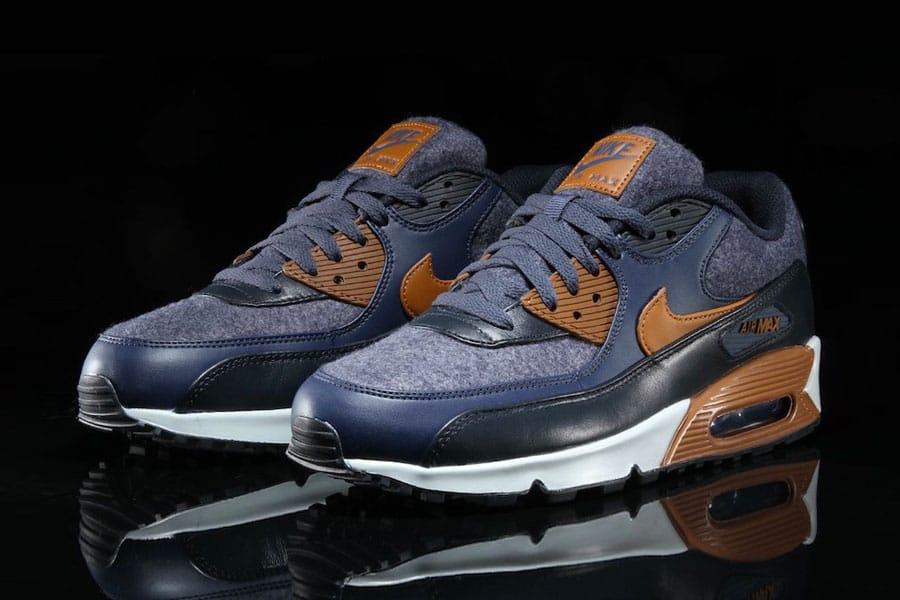 Nike Air Max 90 Wool Thunder Blue