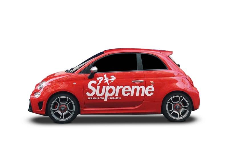 Supreme Akira Car Colette Paris