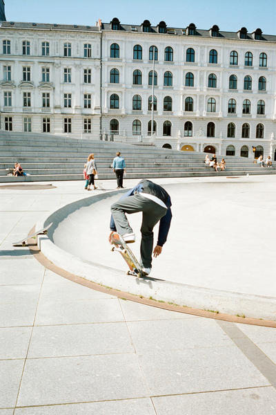 Alex Olson Bianca Chandon SSENSE Copenhagen Skate Skateboarding Skating Interview