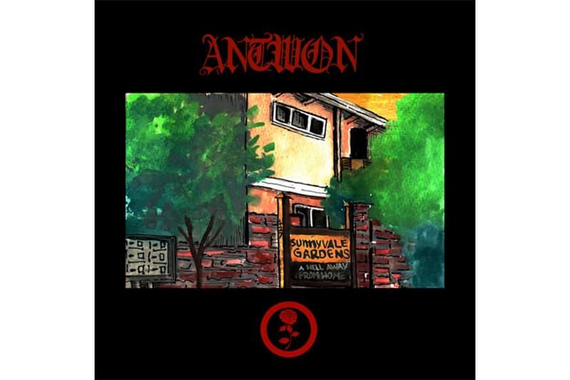ANTWON Sunnyvale Gardens Album Stream 2017 October 5 Release