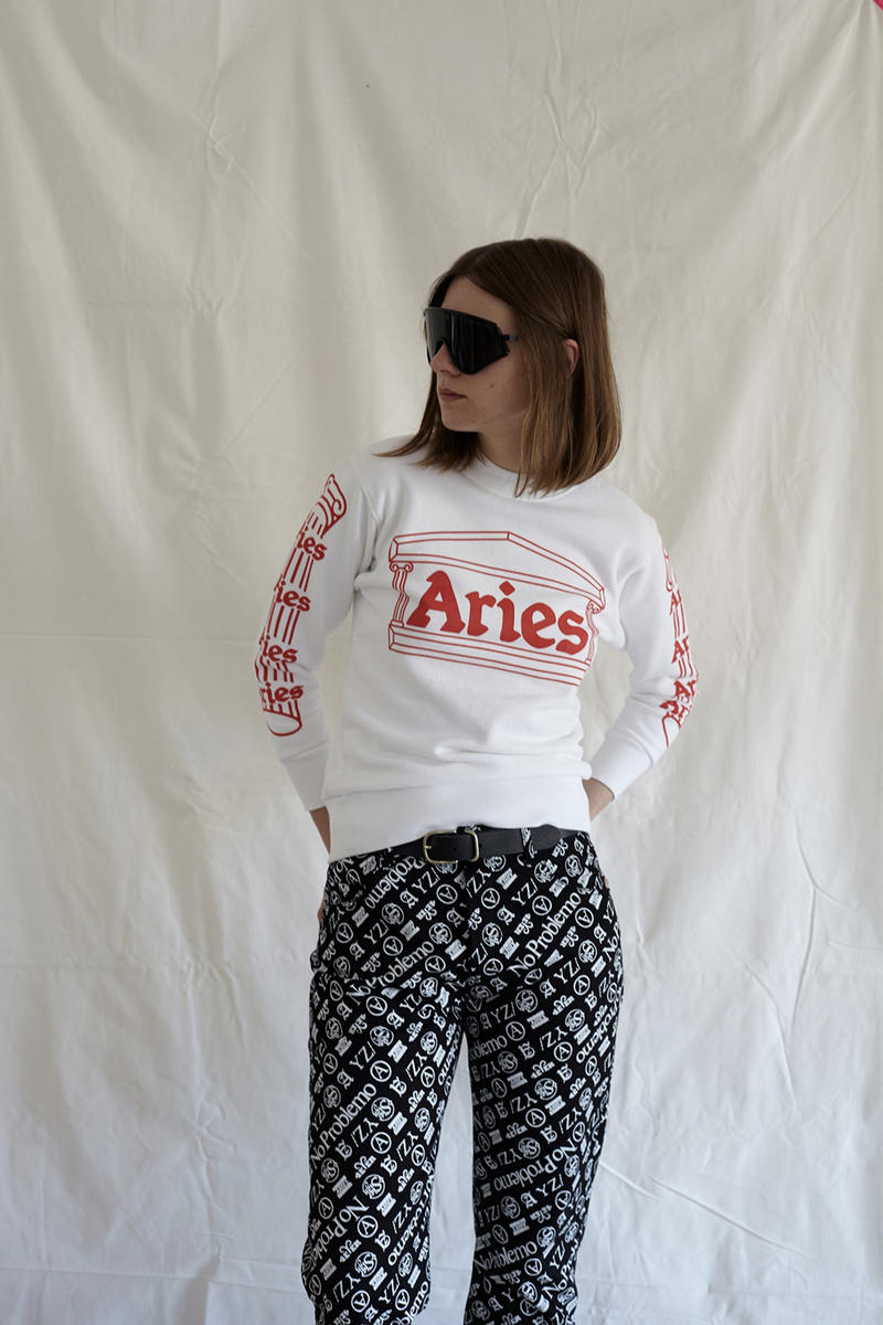 Aries Arise Spring/Summer 2018 Resort Lookbook Fergus Purcell Sofia Prantera